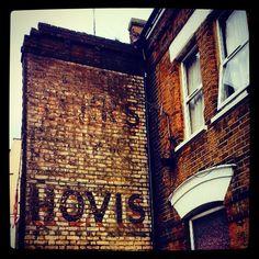 #love this #ghostsigns in #Tooting #vintage #retro link to the past. Get the #Kooky #London #App http://bit.ly/11XgicP #ig_London #igLondon #London_only #UK #England #English #British #iPhone #quirky #odd #photoftheday #photography #picoftheday #igerslondon #londonpop #lovelondon #timeoutlondon #instalondon #londonslovinit #mylondon #Padgram