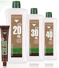Biokera Natura Organic Professional Hair Color by Salerm Cosmetics Professional Hair Color, Professional Hairstyles, Ammonia Free Hair Color, Organic Hair Color, Color Lines, Shiny Hair, Mineral Oil, Beauty Supply, Beauty Hacks