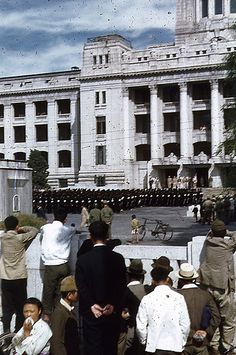 Seoul:  Former Government-General Building, 1945