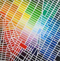 Manhattan in color