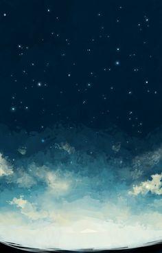 iPhone 5 Wallpaper Night Starry Sky