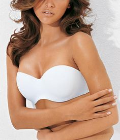 Smooth strapless bra to wear under your wedding dress.
