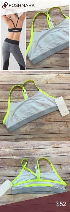 NWT Lululemon Sports Bra NWT Lululemon Rise and Run Sports Bra. Made of 77% Nylon and 23% elastane lululemon athletica Intimates & Sleepwear Bras