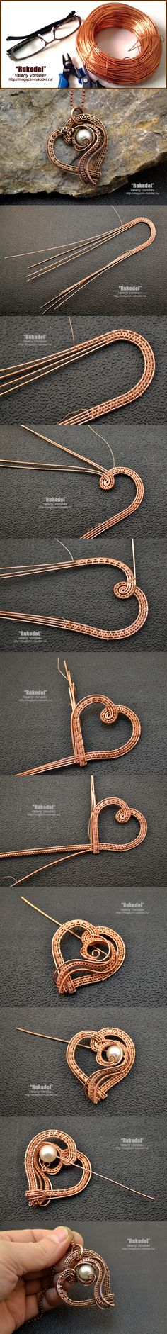 Not that I will ever be successful in doing this. I had to pin it for its beauty. Wire Wrap Pendant  - http://magazin-rukodel.ru/