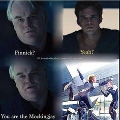 Finnick Odair (Sam Claflin) as the Mockingjay