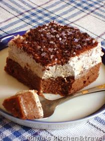 Adina's kitchen & travel: Prajitura cu crema de ness si frisca ( Boema ) Gordon Ramsay, Romanian Food, Romanian Recipes, Food Wishes, Meals For One, Tiramisu, Cheesecake, Food And Drink, Dessert Recipes