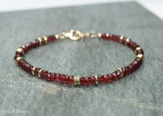 Hey, I found this really awesome Etsy listing at https://www.etsy.com/listing/218910190/garnet-bracelet-garnet-jewelry-brass