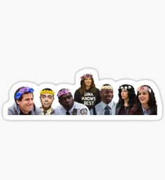 Brooklyn 99 Stickers | Stickers in 2019 | Aesthetic ...