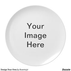 Design Your Own Plates