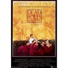 robin williams movie posters | Dead Poets Society Robin Williams Movie Poster - 27x40