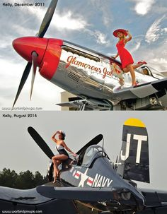 war bird pin up girls