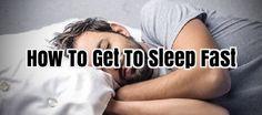How To Get To Sleep Fast #SleepAids #SleepingPills #SleepApnea