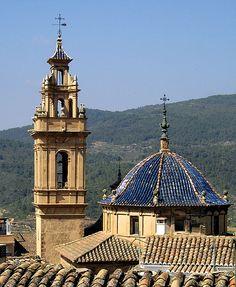 Valencia Tuejar iglesia posterior
