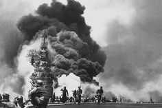 "10 Fascinating Facts About Kamikaze Attacks - As World War II was coming to an end, American Naval forces were quickly approaching Japan and unless something radical happened, Japan would be defeated. Their answer to turn the tides of war was a unique Navy unit called Tokubetsu Kogekitai, which means ""Special Attack Unit."" But... - http://toptenz.net"