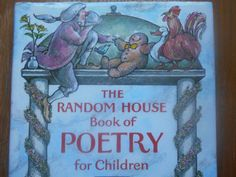 A wonderful selection of Childrens poetry Illustrated by Arnold Lobel. 1983.  Hardcover: Very good condition, tight binding, no dog eared pages,