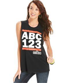 licensed sesame street shirt @ macy's