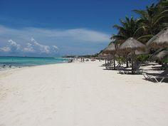 Playa del Carmen those powdery beaches........  2013