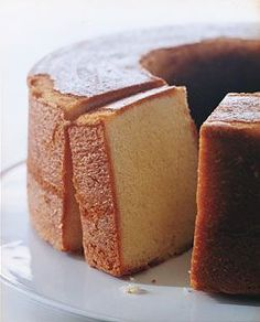 This cake is been documented as the best pound cake ever!