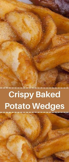 Potato Side Dishes, Veggie Side Dishes, Vegetable Dishes, Vegetable Recipes, Crispy Baked Potato Wedges, Recipes Appetizers And Snacks, Easy Snacks, Desserts, Soft Flatbread Recipe