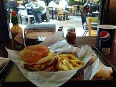 """Sawyer's Downtown, Lexington """"Chili burger. Chips on the side. Pile on the toppings. Eat it with a fork."""" - Foursquare user Christopher Brown"""