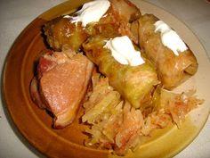 Sarmale cu varză nouă şi ciolan afumat - Retete culinare by Teo's Kitchen