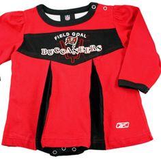 OuterStuff NFL Infant and Toddler Girls Dress /& Legging Set,Tampa Bay Buccaneer
