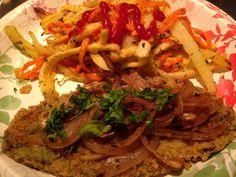 Vegan Latino: Bistec empanizado de nopal
