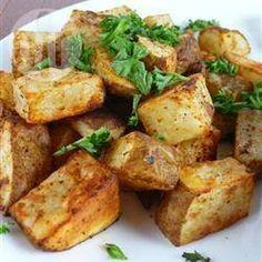 Batata assada com alecrim @ allrecipes.com.br