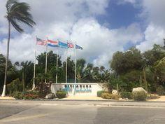Entrance to the Divi Aruba All Inclusive Resort.