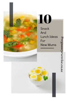 10 Snack and Lunch ideas for new mums Pregnancy Nutrition, Frozen Meals, New Mums, Lunch Ideas, Food Ideas, Healthy Living, Snacks, Dinner, Ethnic Recipes