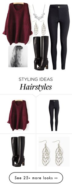 """Untitled #129"" by erikaalex on Polyvore featuring H&M, Burberry and Givenchy"