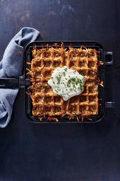For hash browns that are crisp on the outside and buttery on the inside, look no further than your multifaceted waffle iron. These iconic...