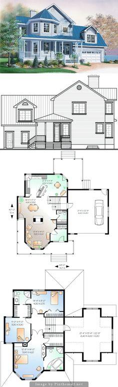 Dos pisos, garaje y tres dormitorios