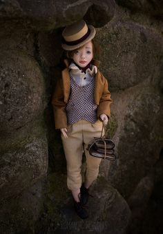 Oliver was sculpted of polymer clay with strong steel armature inside. All clothes (two sets) were sewed by the hand of cotton,linen and silk fabrics, shoes were sewed of real leather, hair was made of mohair. Ooak Dolls, Art Dolls, Oliver Twist, Doll Parts, Boys Who, Silk Fabric, Cotton Linen, Real Leather, Romantic