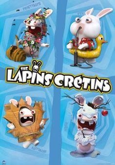 Raving Rabbids poster Seasons http://www.abystyle-studio.com/en/raving-rabbids-posters/246-raving-rabbids-poster-seasons.html
