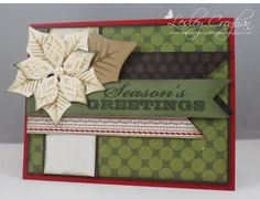 Always Playing with Paper: Merry Monday Christmas Card Challenge #56-{Seasons Greetings}