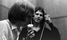 "The Doors. John Densmore, Robby Krieger, Raymond Manzarek (1939.2013), and James Douglas ""Jim"" Morrison ☮ [December 8, 1943 ― July 3, 1971] ♡ The Doors. #JimMorrison #TheDoors #Music #Rock #Legend #Pamela #Courson #Art"