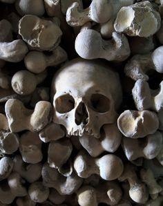 The Ossuary at St. Leonard's Church, Hythe, Kent, England