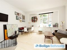 Baldersgade 75, st. th.., 2200 København N - Indflytningsklar lejlighed i 2 plan #københavn #københavnn #nørrebro #ejerlejlighed #boligsalg #selvsalg