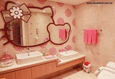 Hello kitty Bathroom MIRRORS!!!