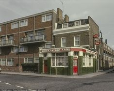 The technicolour images taken between 1960 and 1980 give an intimate portrayal of East London, and have been published for the first time after they were discovered at Tower Hamlets archive centre London Pubs, London Street, Vintage London, Old London, London Architecture, Modern Architecture, Best Places In London, Newham, London Photography