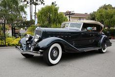 Chrysler CL Imperial Custom LeBaron Phaeton 1933.