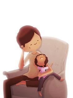 Cute Father's Day card idea  Nidhi Chanani: http://www.etsy.com/shop/nidhi