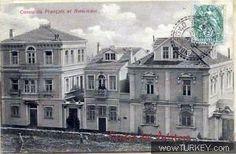 Trabzon - Fransız Ve Amerikan Konsolosluk Binası (Şimdiki Trabzon Barosu) Rum, Greek, Louvre, Mansions, History, House Styles, Building, Travel, Pictures
