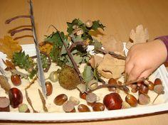 Jardin d'automne:pâte à sel