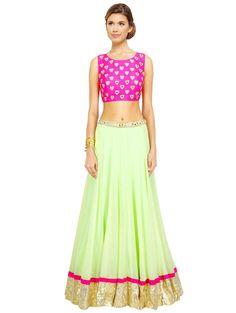 594345d318 Multicolored Lehenga Set - Buy Unnati Lehengas For Women Online in India -  LimeRoad.com