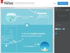 Project Parfait beta, Extract everything you need from PSD mockups in your browser.