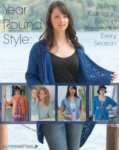 82c3a11ef Year Round Style  20 Free Cardigan Knitting Patterns for Every Season