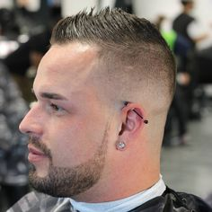 cool 75 Formal High And Tight Haircut Ideas - Show Your Style Mens Hairstyles Fade, Cool Mens Haircuts, Thin Hair Haircuts, Cute Hairstyles For Kids, Best Short Haircuts, Short Hair Cuts, Short Hair Styles, Toddler Hairstyles, Girl Hairstyles