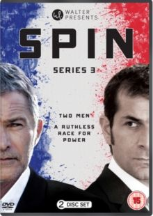 LES HOMMES DE L'OMBRE/SPIN: SERIES 3 (15) FRANCE 2016 £19.99 Third and final series in which the race for the presidency enters its final stretch, Simon witnesses an assassination which threa…  DVD available from-  http://www.worldonlinecinema.com/Home/french-dvds
